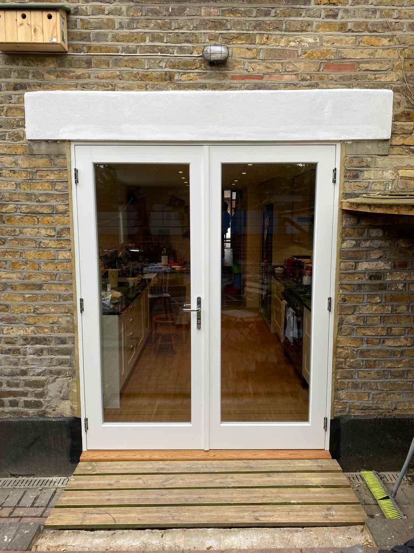 lambeth french door exterior