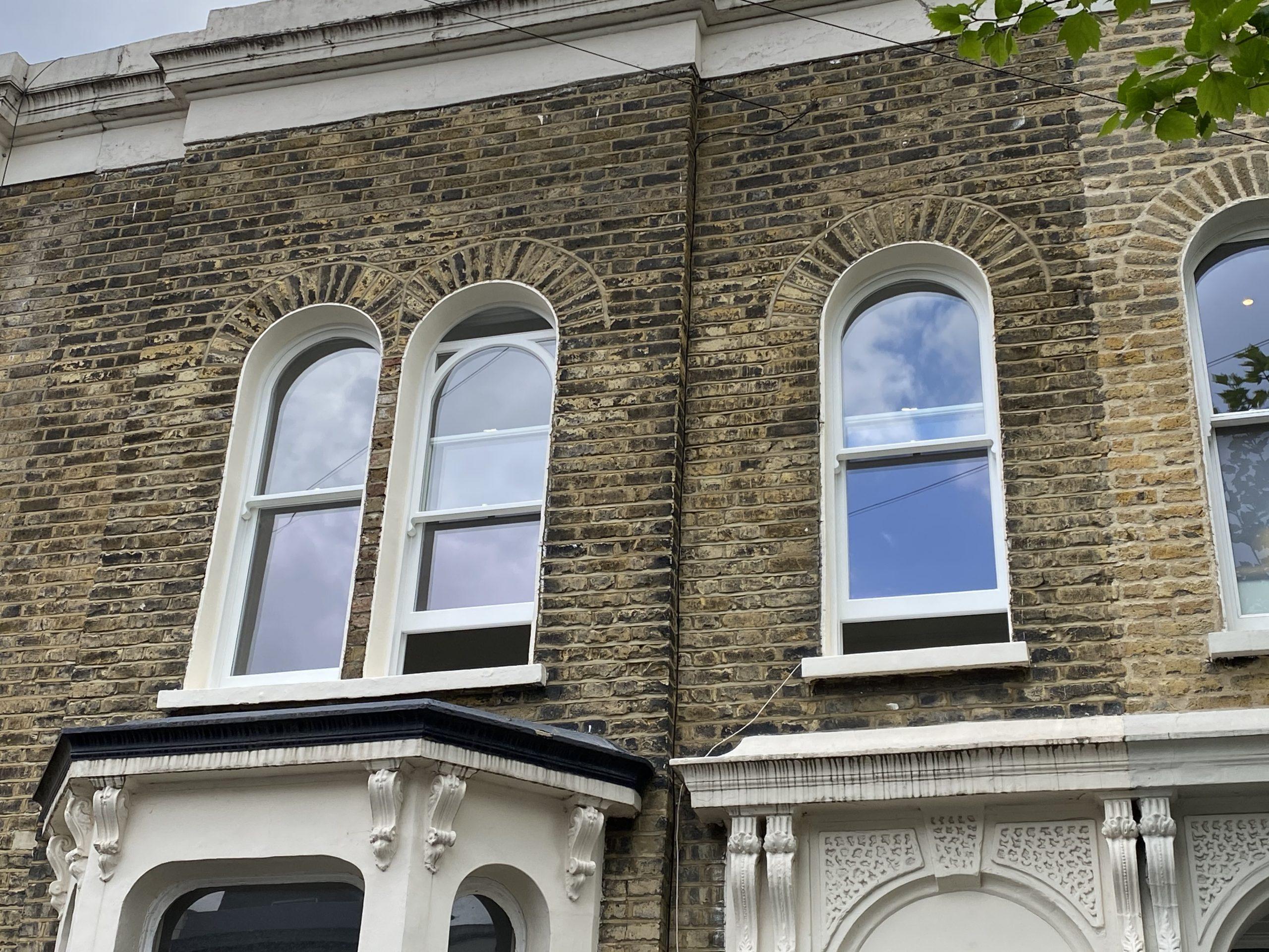 Full box sash windows in Hackney